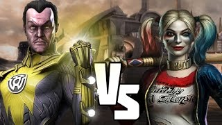 INJUSTICE VERSUS Legion of Doom V Suicide Squad