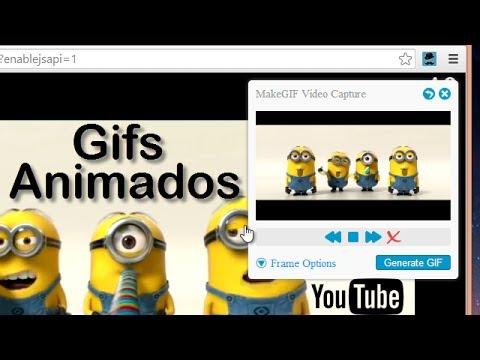 Como Crear Gifs Animados con Videos de YouTube