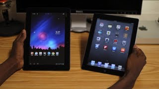 iPad 3 vs Transformer Prime!