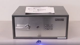 First Alert 2062F Electronic Laptop Security Safe