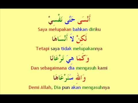 Www.arabindo.co.nr - Ummi - Nasyid Bahasa Arab Terjemah Indonesia video