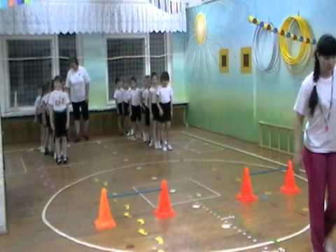 Физкультурное занятие (эстафеты по видам спорта) 1
