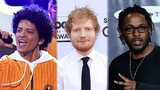 Download Lagu 2018 Billboard Award Nominations - Bruno Mars, Ed Sheeran & Kendrick Lamar! Gratis STAFABAND