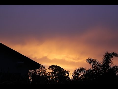 WILD WEATHER /Thunder/ Lightening/power outages Auckland June 27th 2014