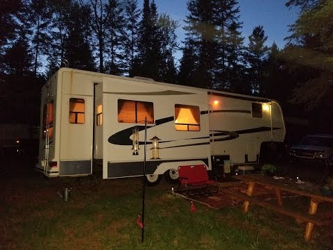 5th Wheel. Cloquet Minnesota. With Melissa