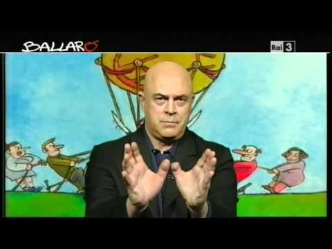 "MAURIZIO CROZZA – Ballarò 27/03/12 – ""E' rimasto un Saragat?"""