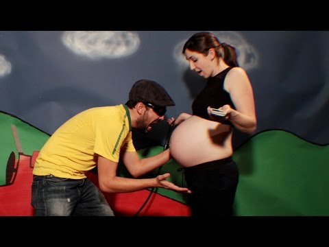 Pregnancy Timelapse - Stop Motion Animation
