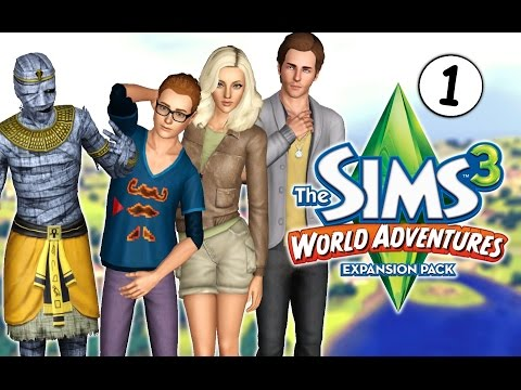 Let's Play: The Sims 3 World Adventures (Part 1) Welcome to China!