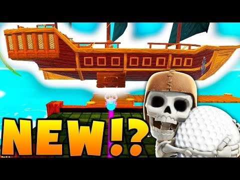 BRAND NEW MAP PIRATES OF THE CARIBBEAN - GOLF WITH FRIENDS