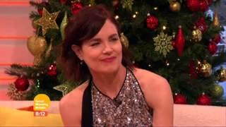 Elizabeth Mcgovern on Good Morning Britain (Dec. 2014)