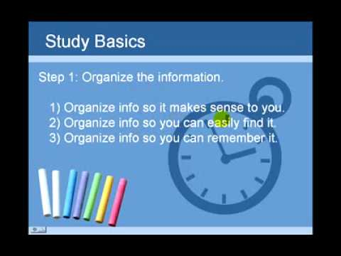 Study Tips for Exams | Improve Study Skills
