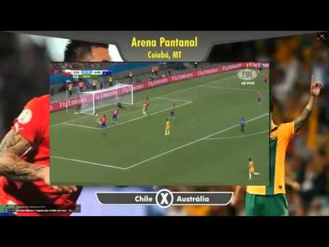 [FIFA] Chile vs Australia 3-1 2014 Fifa World Cup All Goals 12-6-2014 Full HD