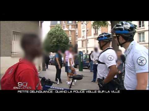 Police Brigade VTT Paris 20eme