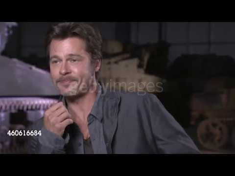 Interview Brad Pitt & David Ayer  About The Movie Fury Mud And The Tanks
