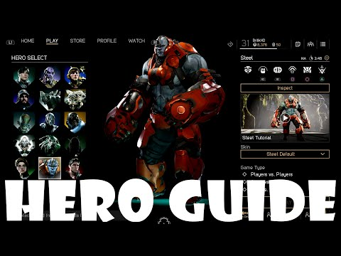 Paragon In-Depth Hero Guide - Steel the Steel Guy (Gameplay and Tips)