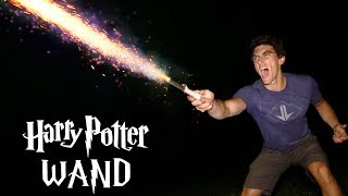 Make a Working HARRY POTTER Wand! - Cast Spells Over 100 FEET!!! (Super Simple, V2)
