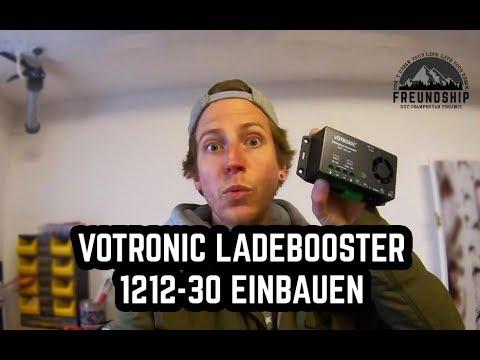 Votronic Ladebooster 1212-30 in VW Crafter DIY Campervan verbauen D+ Kabel suchen // FREUNDSHIP
