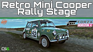 Retro Mini Cooper Rally Stage - Forza Horizon 4 - Custom Route Creator
