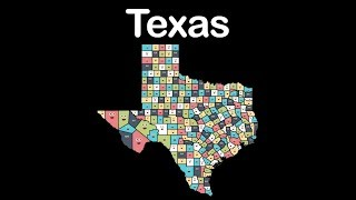 Texas/Texas State/Texas Geography/Texas Counties
