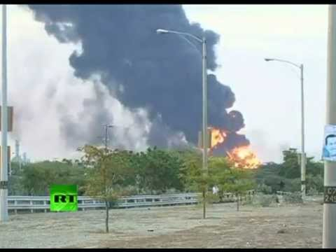 BREAKING NEWS: Venezuela refinery INFERNO has KILLED 39 people so far and MANY MISSING