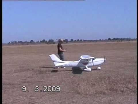 TMMY Composite 35% scale Cessna Skylane 182 Test Flight #1