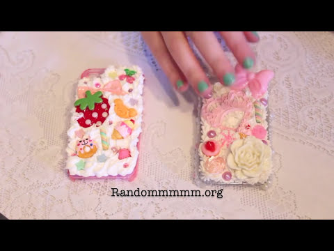 ♡ DIY: How To Decoden Tutorial ♡ Part Two: Whipped Cream Case