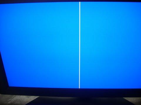 Falla monitor LCD linea vertical