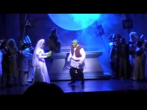 Shrek the Musical at Citrus College (Anthony Nappier as Donkey)