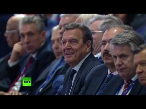 Putin, Nazarbayev, Renzi at #SPIEF2016: 'Capitalizing on the New Global Economic Reality'