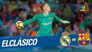 ElClasico - TOP Saves Keylor Navas vs Ter Stegen