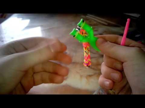 Как сделать браслет из резинки с рогаткой