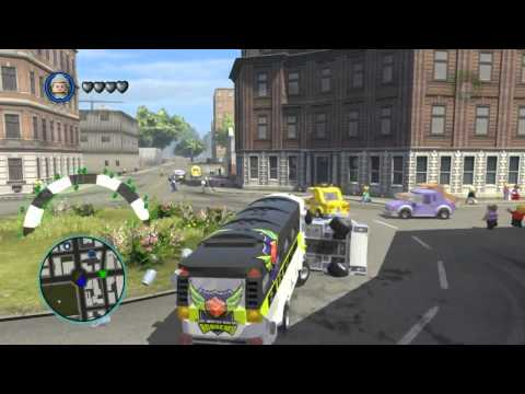 LEGO Marvel Super Heroes The Video Game - Aunt May free roam