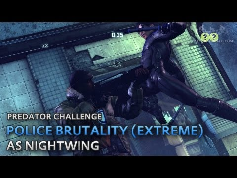 Batman: Arkham City – Police Brutality (Extreme) [as Nightwing] – Predator Challenge