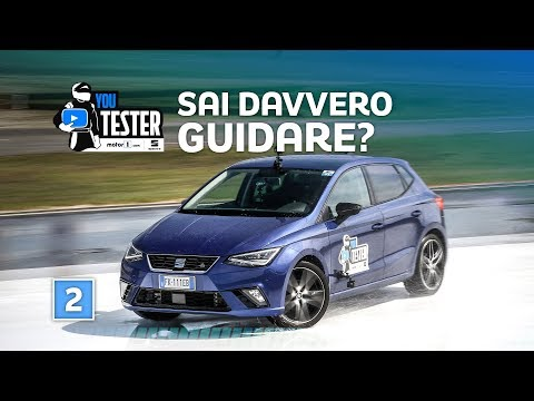 PRIMA SFIDA: vediamo come guidano e reagiscono  YouTester 2018