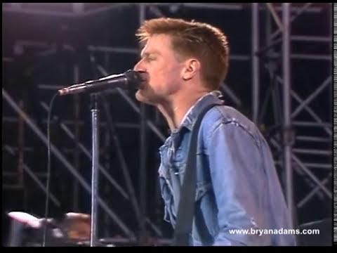 Bryan Adams - Somebody - Live in Belgium