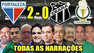 Todas as narrações - Fortaleza 2 x 0 Ceará / Campeonato Cearense 2019
