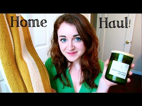 Home Haul! [Williams Sonoma, Crate & Barrel, Bath & Body Works)