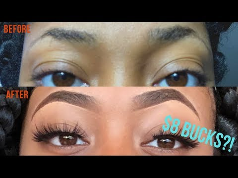 EYEBROW HACK | DIY Eyebrow Tinting for $8 BUCKS!