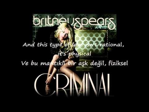 Britney Spears - Criminal Lyrics | Türkçe Sözleri