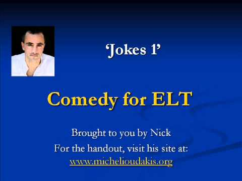 Comedy for ELT - Jokes 1 [Men and Women]