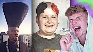 The WORST Haircuts Of ALL TIME.. (WAY Too Far)