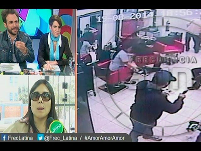 Spa de Tula Rodriguez en La Victoria fue asaltado violentamente