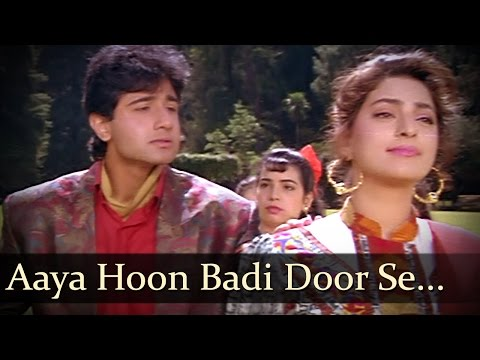Aaya Hoon Badi Door Se - Vivek Mushran - Juhi Chawla - Bewafa Se Wafa - Bollywood Songs video