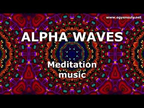 Alfa agyhullám | Relax zene | Szuper inteligencia |  Agyhullám szinkron