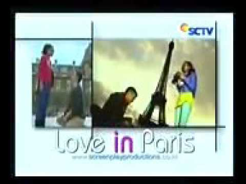 media video love in paris adegan ciuman michelle dan dimas anggara