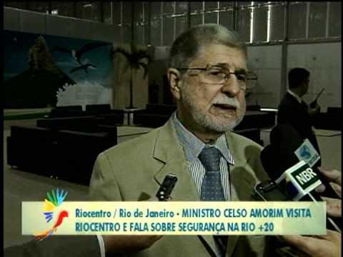 Ministro Celso Amorim fala sobre a segurança na Conferência Rio+20