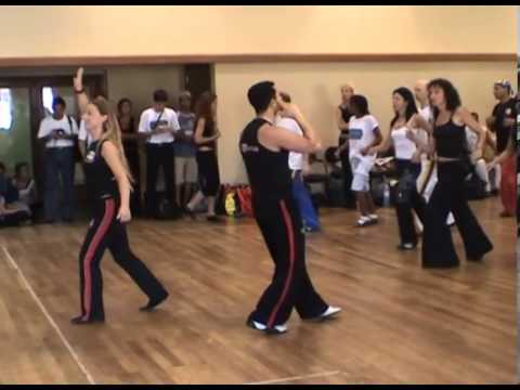 Brazilian Zouk basic musicality workshop by Claudio Gomes in Rio 2006