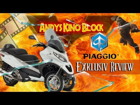 Piaggio mp3 500 LT business review