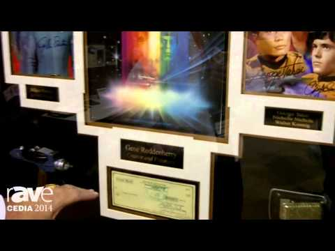 CEDIA 2014: Signature Royale Features Autographed and Framed Star Trek Art, Props