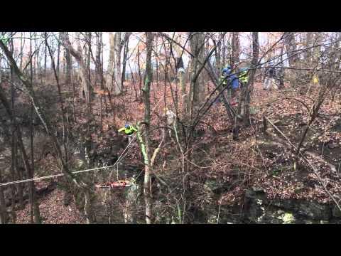 Rescue tactics: Keeping victims off walls